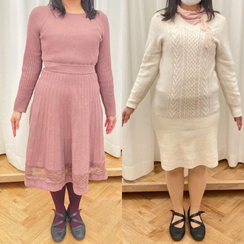 白いドレスを着た女性たち  中程度の精度で自動的に生成された説明